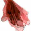 Transparent silk foulard - Stock Photo