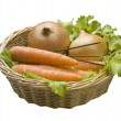 Basket with vegetables — Stock Photo #40662867