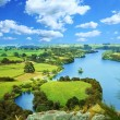 New Zealand picturesque landscape — Stock Photo
