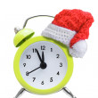 Alarm clock new year concepts — Stock Photo