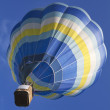 Hot air balloon rising — Stock Photo
