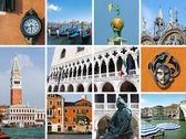 Venice collage — Stock Photo