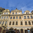 Old Nerudova Street in Prague — Stock Photo