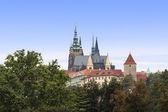 Prague st Vitus Cathedral — Stock Photo