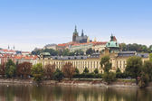 Prague autumn panorama — Stock Photo