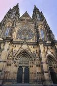 St Vitus Cathedral , Prague — Stock Photo