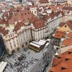 Prague, Old Town Square — Stock Photo