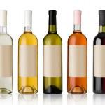 Set of wine bottles. — Stock Photo #12007707