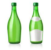 Green bottles — Stockfoto