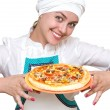 Attractive cook — Stock fotografie