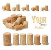 Corks set — Stock Photo