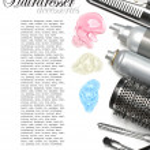 Hairdresser accessories — Stock Photo