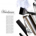 Hairdresser Accessories 1 — Stock Photo