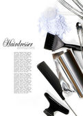 Hairdresser Accessories 1 — Stock Photo