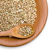 Green buckwheat — Stock Photo