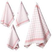 Four Kitchen toweli — Stock Photo