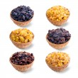 Different varieties of raisins — Stock Photo #22931808