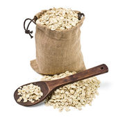 Bag of oats a — Stock Photo