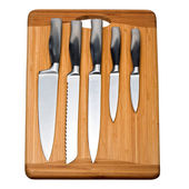 Set of kitchen knives — Stock Photo