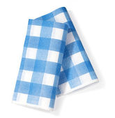 White napkin — Stock Photo
