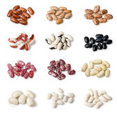 Set of beans — Stock Photo