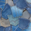 Jeans pocket — Stock Photo #25496797