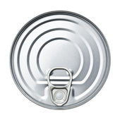 The tin — Stock Photo