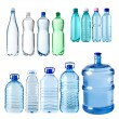 water bottles — Stock Photo