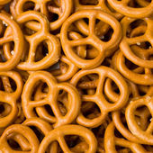 Closeup of Pretzels. — Foto de Stock