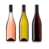 Wine bottles set — Stock Photo