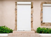 Security Shutter — Stock Photo
