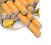 Pack of Cigarettes — Stock Photo