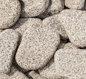 white pebbles — Foto de Stock