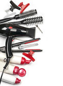 Professional hairdresser tools — Stock Photo