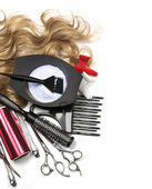 Hairdresser tools — Stock Photo
