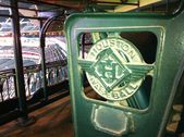 Houston Astros stadium detail at Minutemaid Park, Houston, Texas — Stock Photo