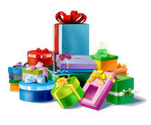 Mountine gifts — Stock Photo