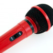 Stock Photo: Singer Stage Microphone