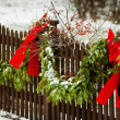 Outdoor Christmas Decor — Stock Photo #14360051
