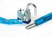 Lock and Chain — Stock Photo