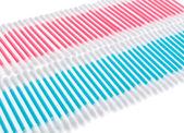 Kleurrijke q-tips — Stockfoto