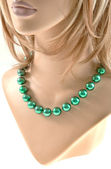 Large Bead Necklace — Stock Photo