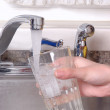 Tap Water Sink — Stock Photo
