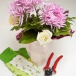 Flower Shop Arrangement — Stock Photo