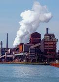 底特律地区炼钢厂 — 图库照片