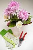 Flower Shop Arrangement — Stock Photo