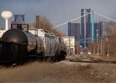 Railroad Cars — Stock Photo