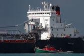 Detroit River Shipping — Stock Photo