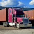 Semi Trucking - Foto de Stock