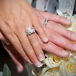 Wedding Ring Hands — Stock Photo #14838349